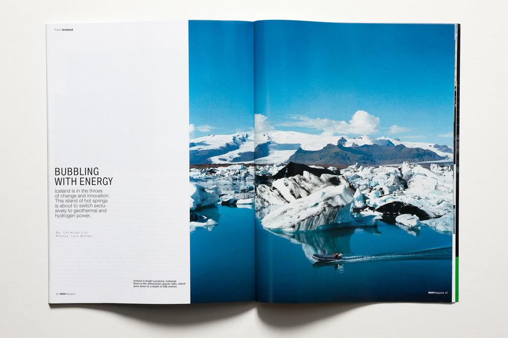 BMW MAGAZINE. ICELAND