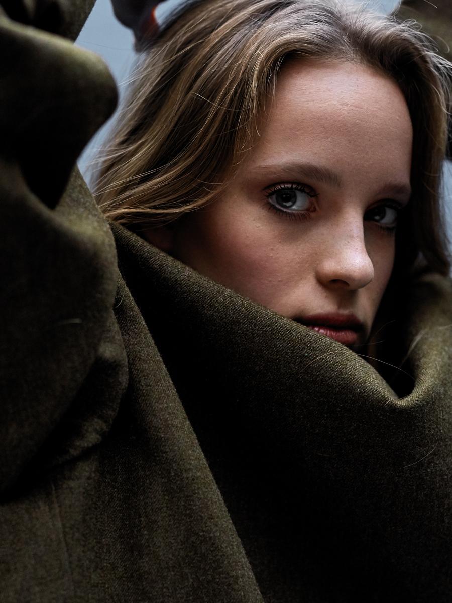 Portrait / London girl Fern