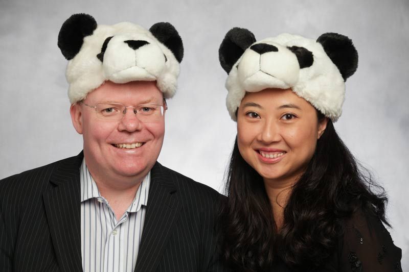 Chris Forbes and Julie Chen, Founders of Cheeky Panda