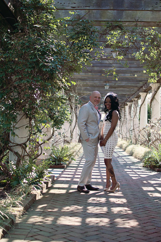 Christain + Jalyssa Daniel Stowe Botanical Garden Wedding — Brittney ...