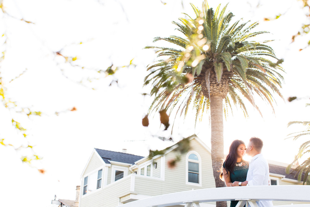 thevondys.com | Venice Canals Engagement | Los Angeles California Wedding Photography | The Vondys