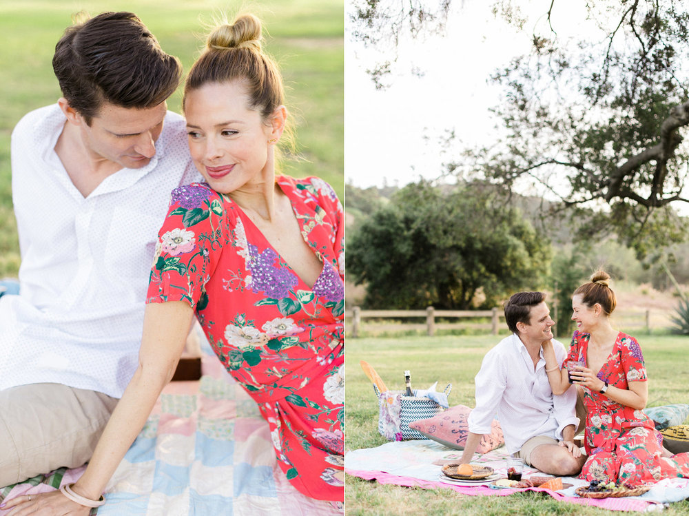 thevondys.com | Picnic Engagement | Los Angeles Wedding Photographer | The Vondys