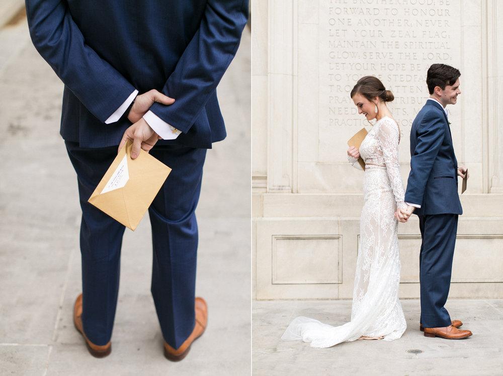 thevondys.com | Alternate First Look | Perkins Chapel Wedding | Dallas Wedding Photography | The Vondys