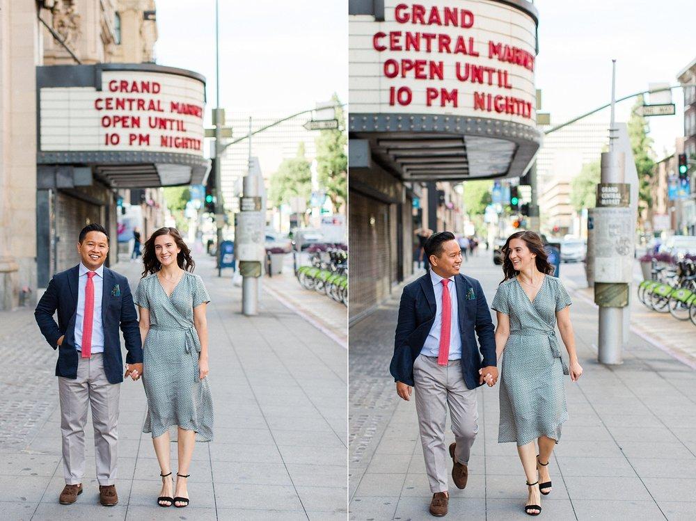 thevondys.com | Grand Central Market | Los Angeles Wedding Photographer | The Vondys