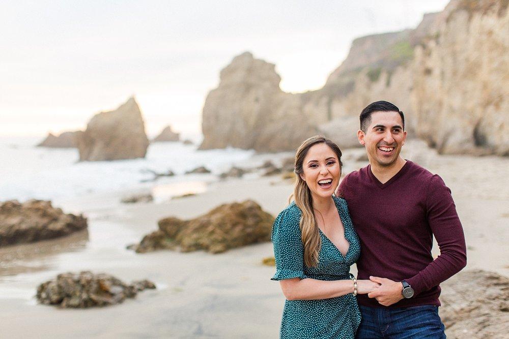 thevondys.com | El Matador Beach | Malibu Engagement Photographer | The Vondys