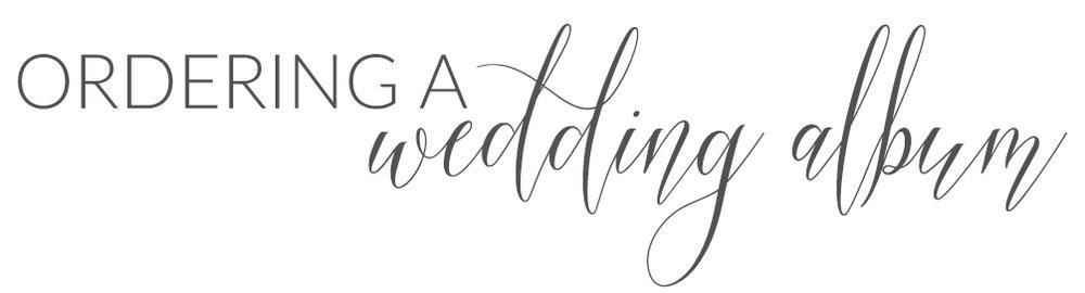 thevondys.com | wedding albums