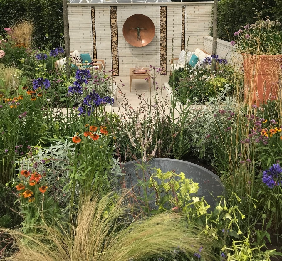 Will William's show garden at RHS Tatton