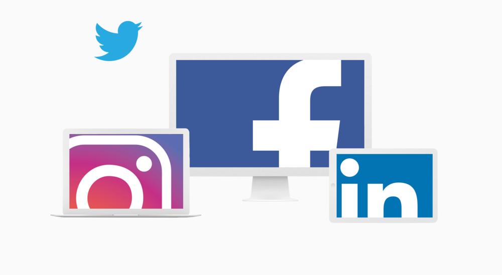 Sosiale Medier - Sosiale medier er viktig for alle firmaer, både for synlighet, informasjonsstrøm, og markedsføring.Vi kan sette opp de nødvendige profilene for deres selskap, å sette den igang for dere.(Vi kan også drifte den om det er ønsket)