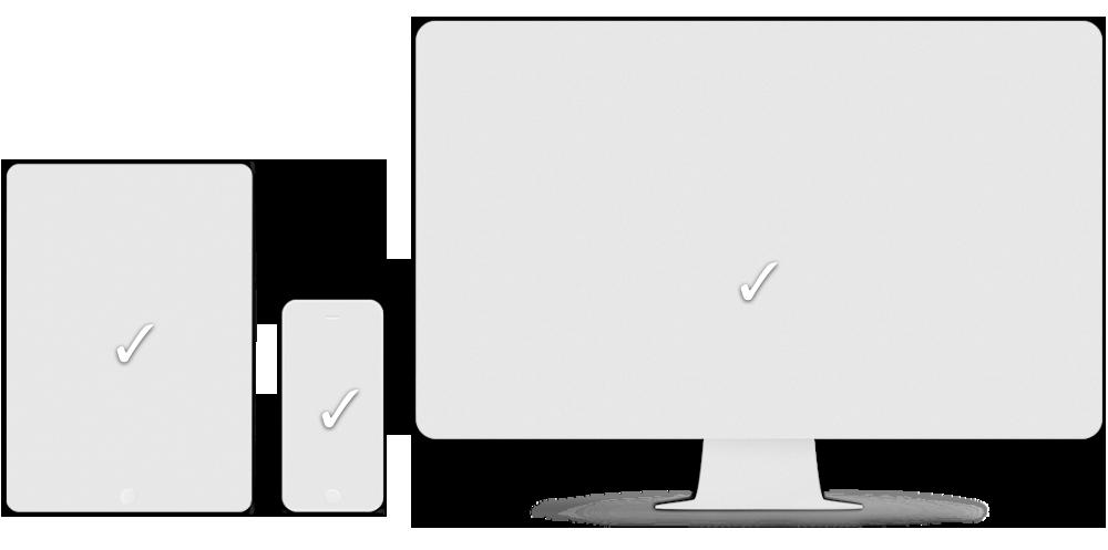 Responsive sider - I dag bruker flere og flere smarttelefon enn PC for å sjekke hjemmesidene. Våre hjemmesider ser forskjell på om det er en smart-telefon, nettbrett, eller en datamaskin og tilpasser visningen av innholdet.