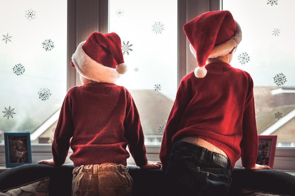 Noah and Henry, Christmas 2016