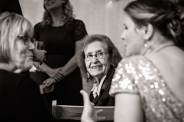 Wedding March It's key to observe everything that's going on around you when shooting a wedding in a documentary style. Even though the lady in this image wasn't part of the conversation, her expression whilst looking at the bride was really wonderful and full of emotion.  #weddingphotography #documentarywedding #documentaryweddings #weddingphotographyuk @fujifilmX_UK #fujifeed @fujifeed @fujixshooters @_fujilove_ #repostmyfujifilm