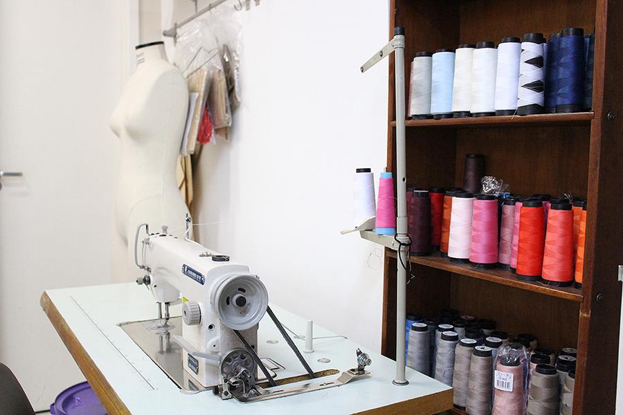 Área de costura.
