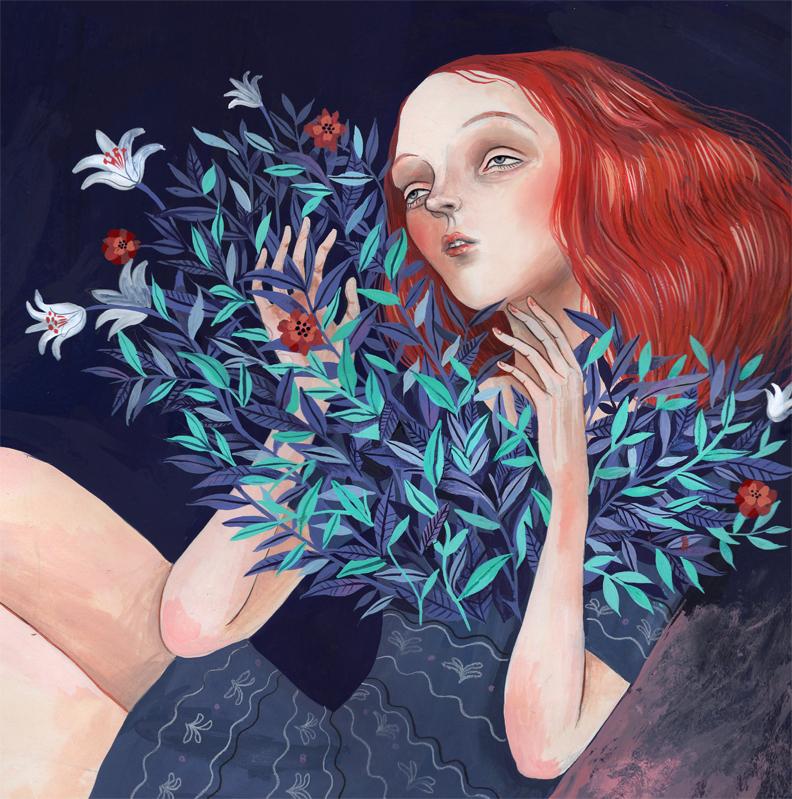 Arte:  Helena Perez Garcia .