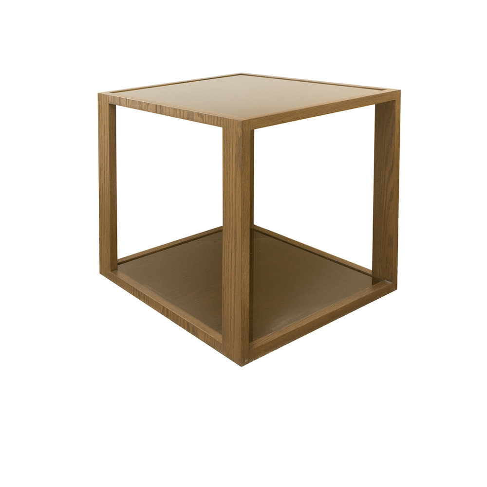 Wood Side Table    more info