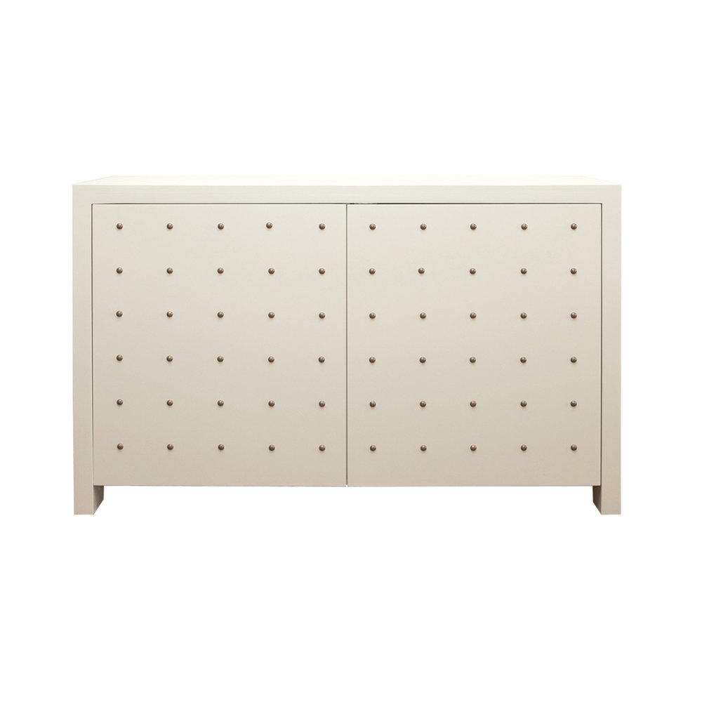 White Dots Dresser    more info