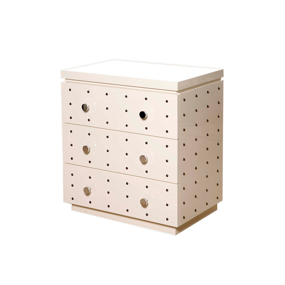 White Dots Chest    more info