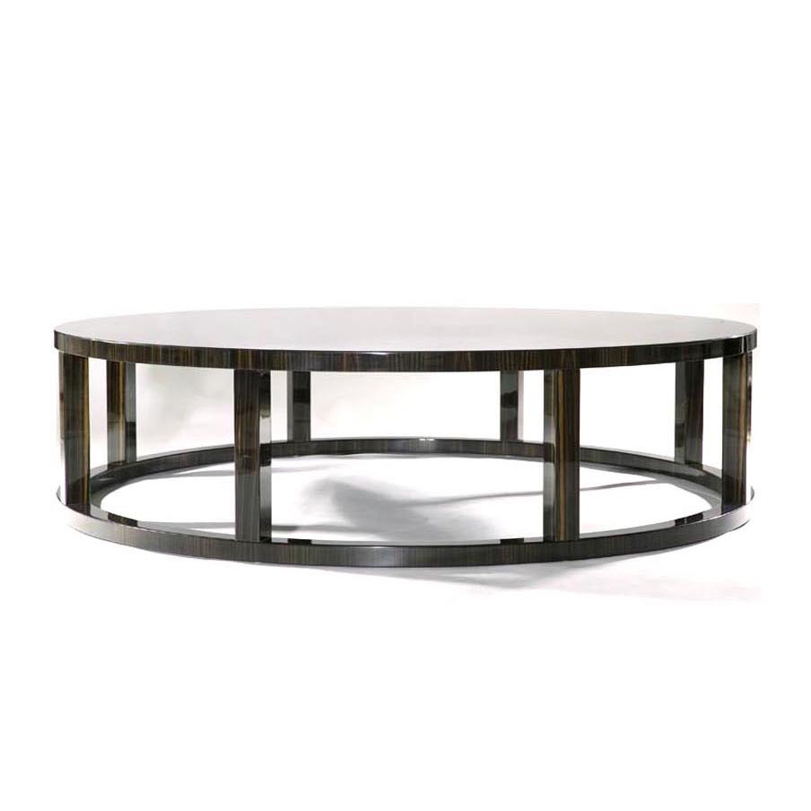 Macassar Ebony Ring Table     more info