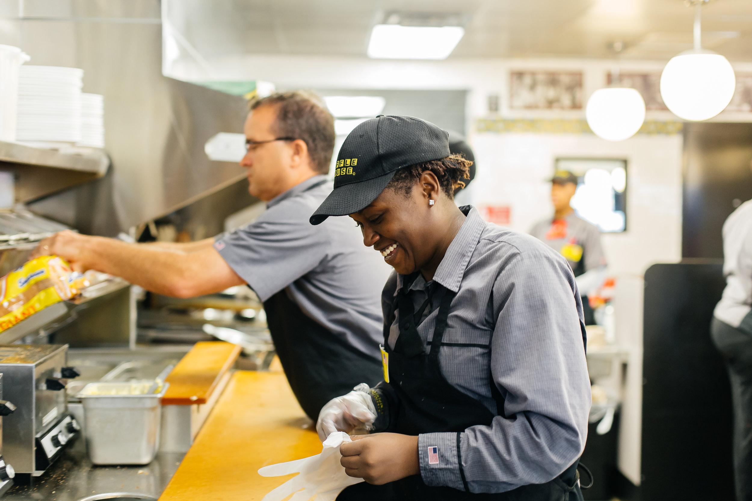 Inside Waffle House