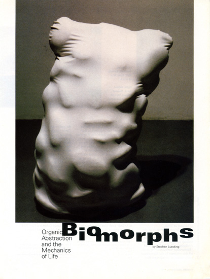 Sculpture Magazine, Jan 2000, Steve Leucking