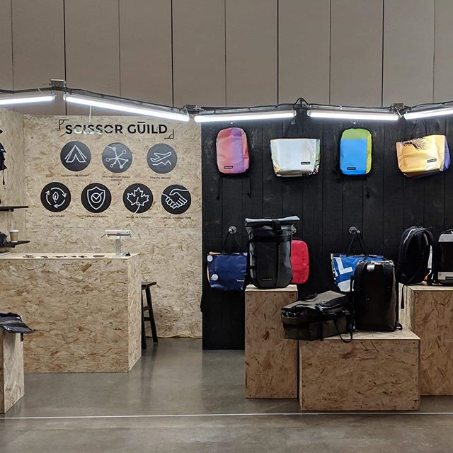 Exciting news! We are so happy to announce that we will be at the @ooak_toronto market from today to sunday. If you're in the neighbourhood, swing on by and see our newly released products- including backpacks, and a duffle.  #scissorguild #montreal #madeinmontreal  #fabriqueamontreal #faitamontreal #montrealdesign  #bag #bagmania #bagslover #bagoftheday #totebag  #handmadeaccessory #handmadebag #handmadegifts #handmadewithlove #handmade #handmadeisbetter #fabriquealamain #faitalamainamontréal #buylocal #madeinmtl #locallife #faitauquebec