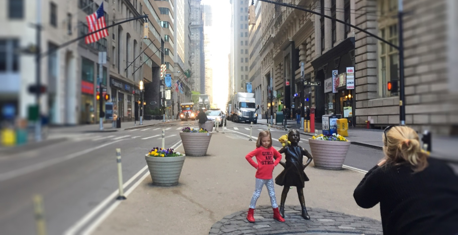 Fearless Girl, McCann New York for State Street Global Advisors