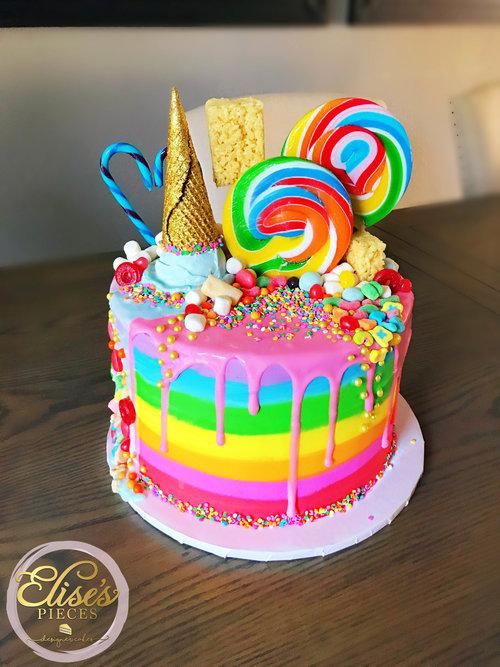 Birthday Cakes Elises Pieces