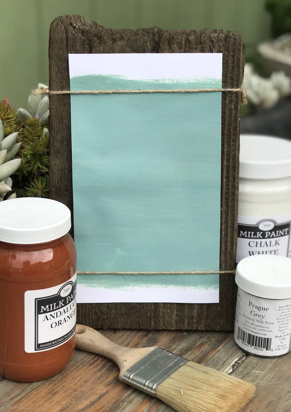 Alcazar Turquoise Milk Paint
