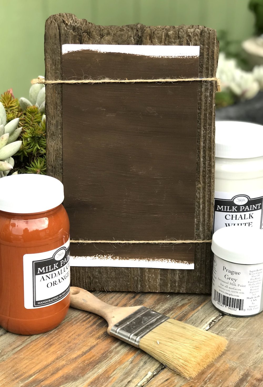 Cyprus Brown Milk Paint