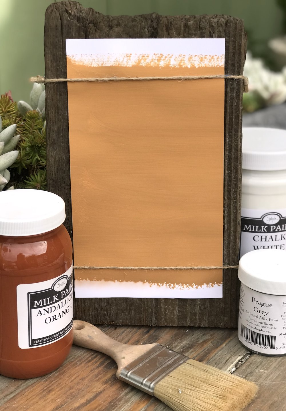 Sienna Orange Milk Paint