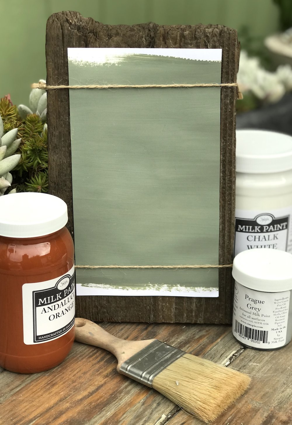 Verona Green Milk Paint