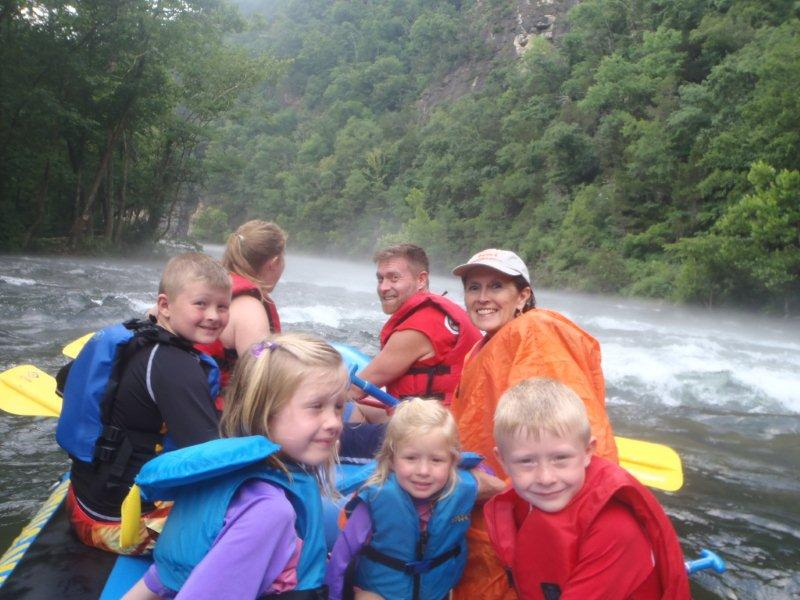 White Water Rafting with Watauga Kayak