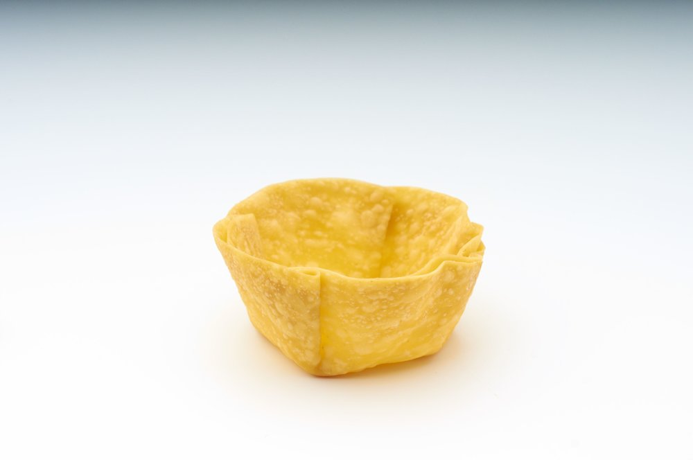 "1 "" Wonton Cup   Product Code - FF7011  Dimensions     - 4.0 x 1.8 cm  360 units per box"