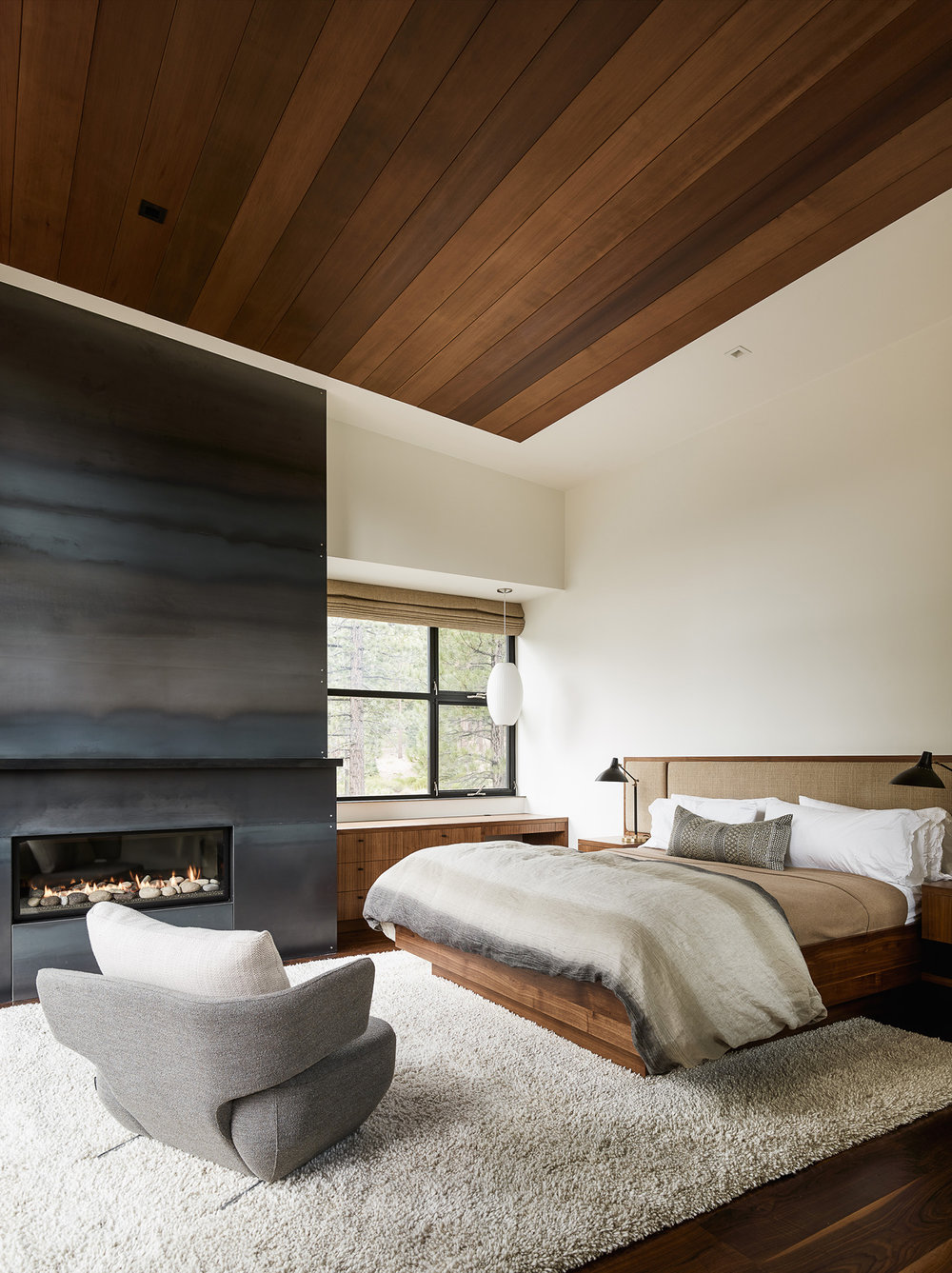 Lot 141_Master Bedroom_Fireplace_Metal Cladding_Wood Ceilings.jpg