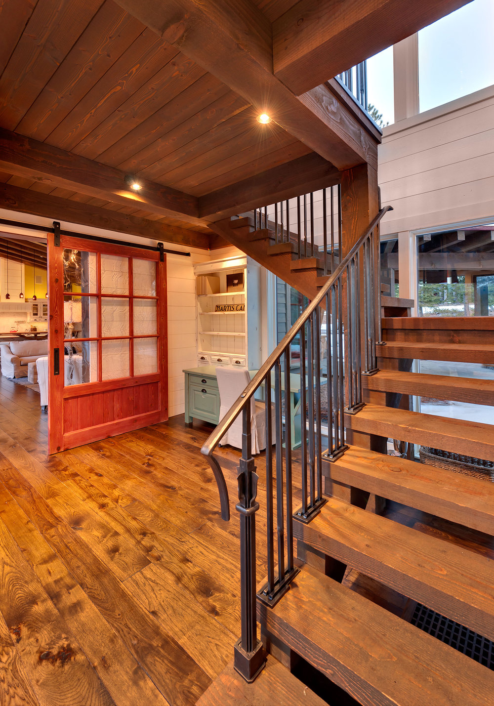 Lot 145_Staircase_Wood Paneling_Barn Door.jpg
