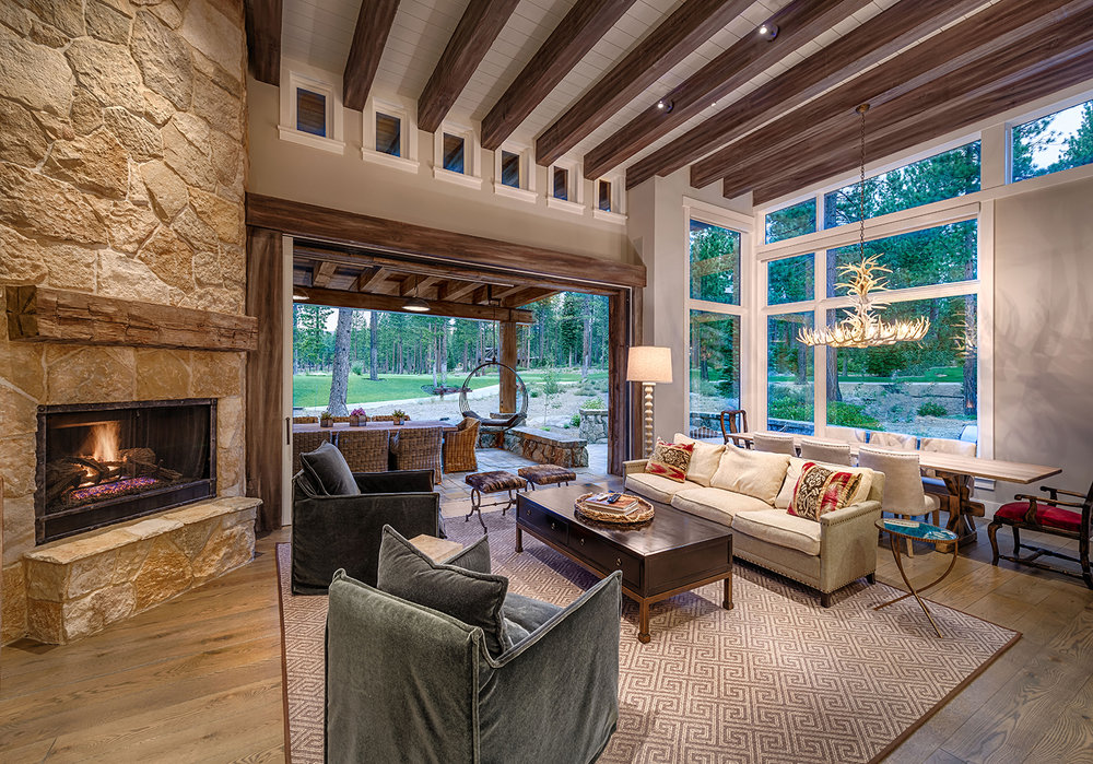 Lot 285_Living Room_Fireplace_Weilands_Covered Terrace_Wood Beams.jpg