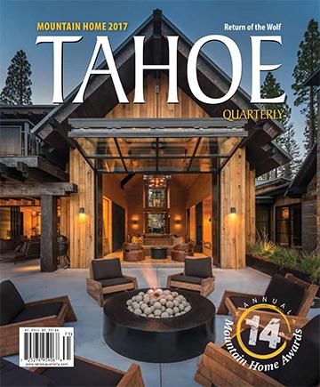 Tahoe Quarterly_Mountain Home 2017_Style Award