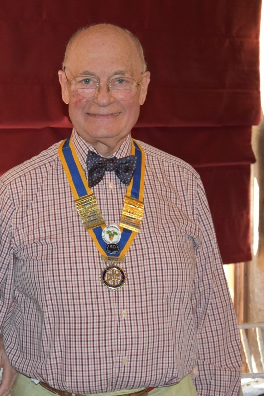 Keith Greenwood, President, Rotary Club of Wokingham