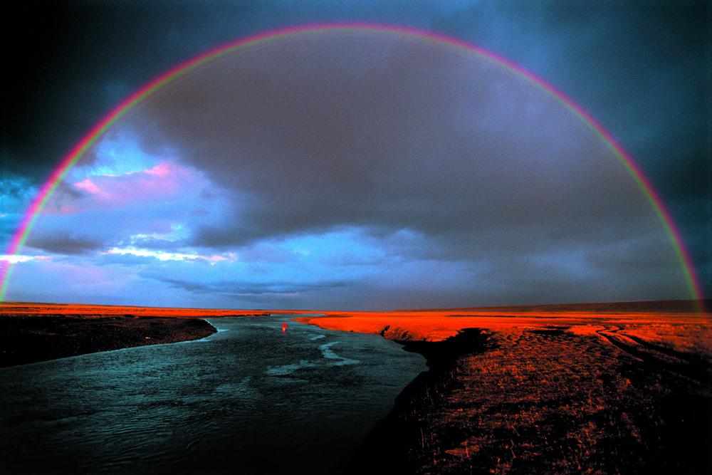 Rainbow over Rio Grande, Tierra del Fuego