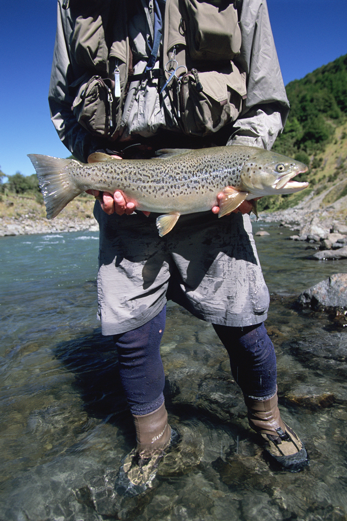 """Good on ya, mate!"" Fly fishing attire, New Zealand"