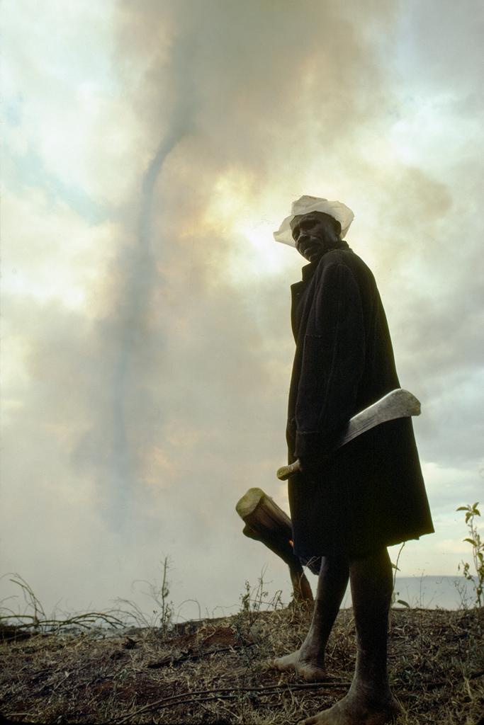 Heat tornado in southern Somalia