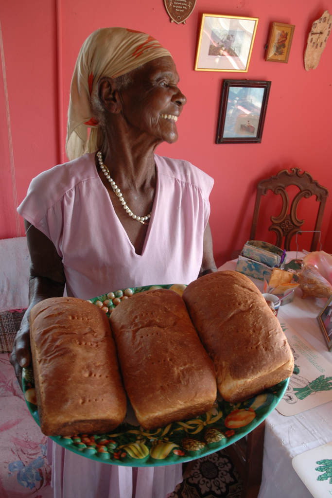 Bahamian bread baker