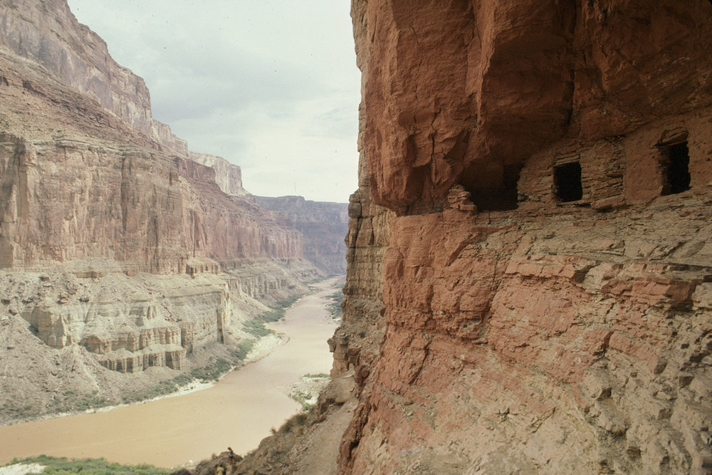 Anasazi ruins int the Grand Canyon