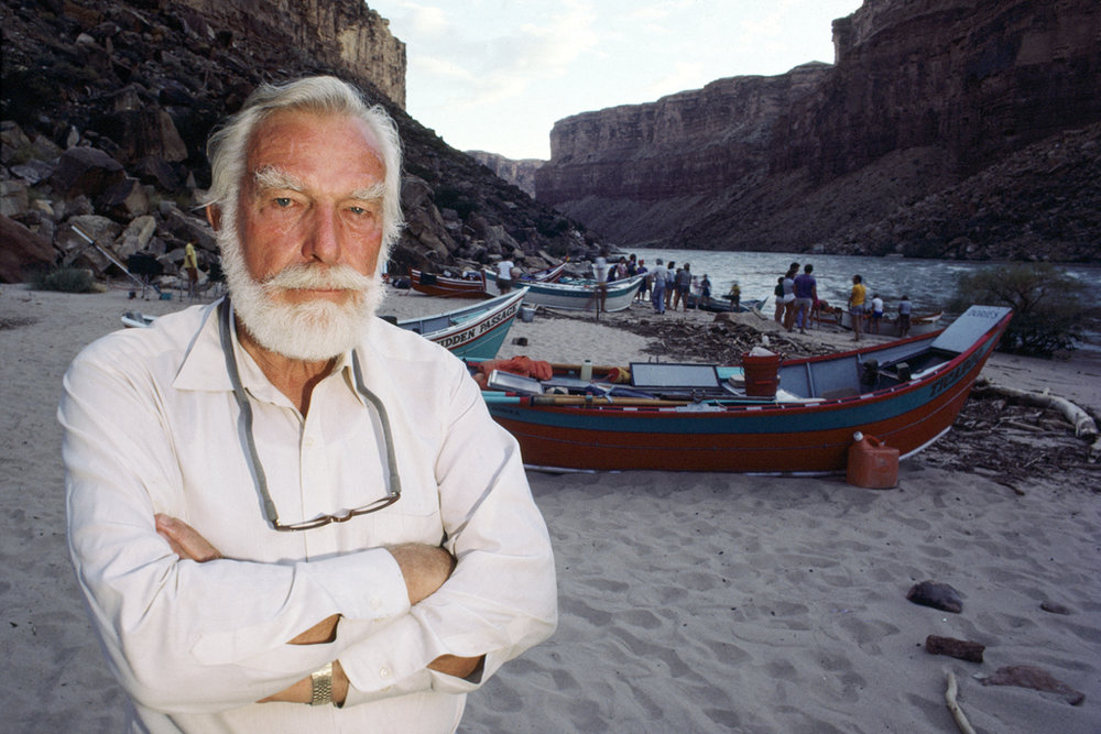 Martin Litton, grandfather of the Grand Canyon