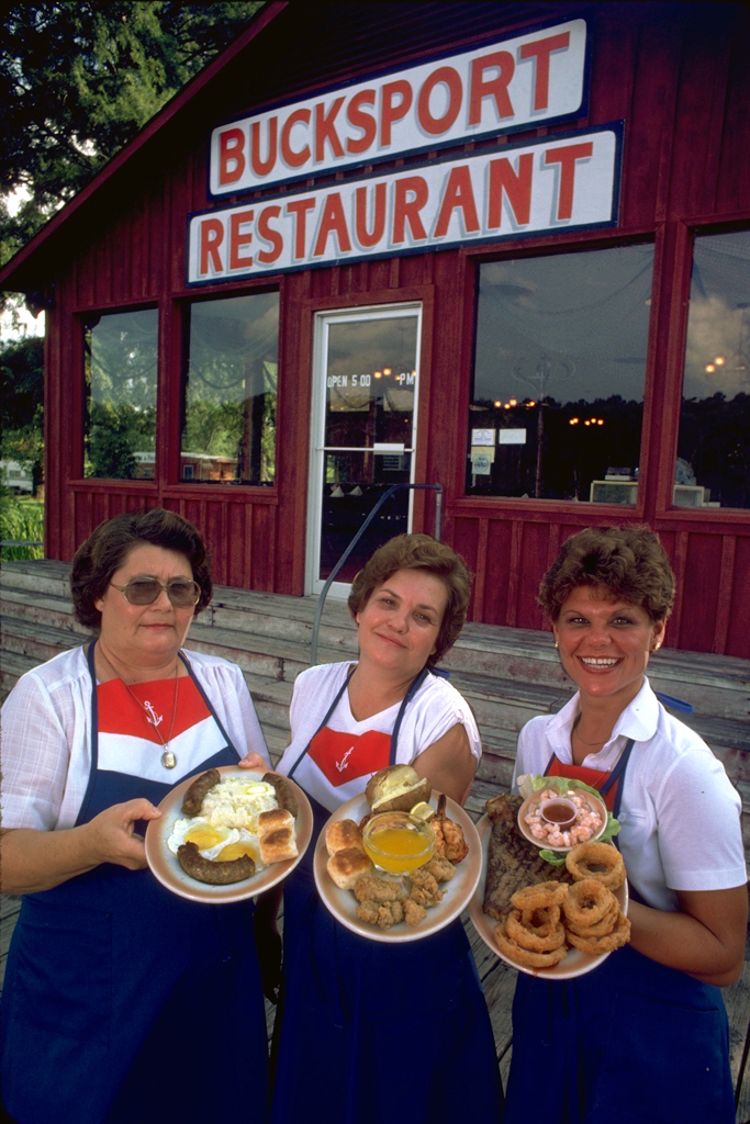 Southern cooking at Bucksport diner for Yacht magazine