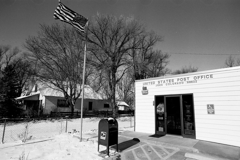Joes' Post Office | Joes, Colorado