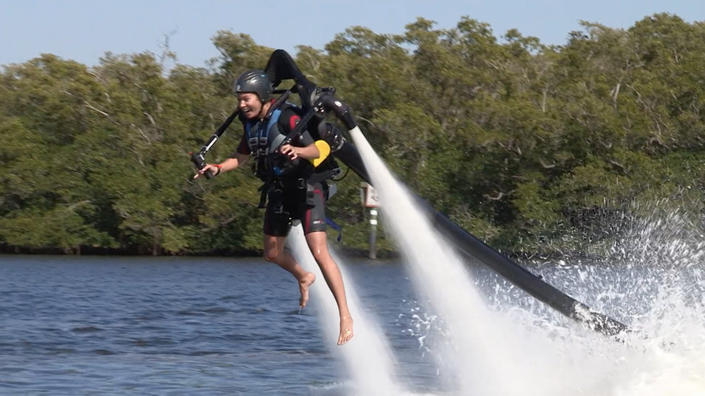 Jet Packs and Snook in the Everglades