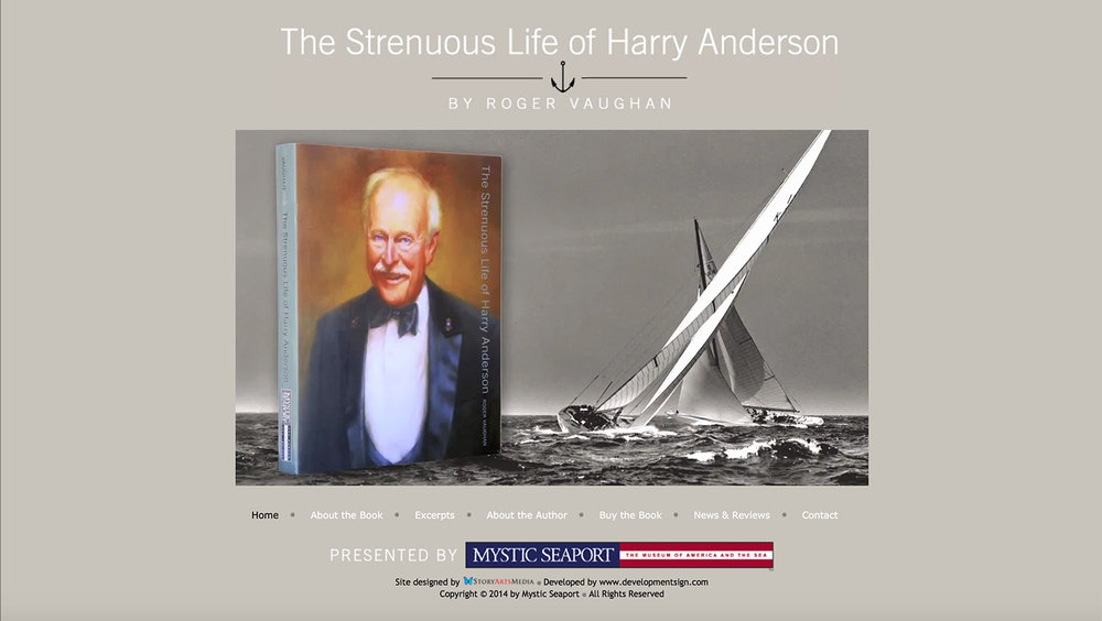Harry Anderson Biography Web Site