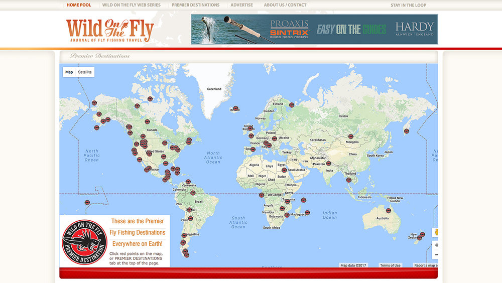 Wild On The Fly Travel Web Site