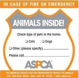The ASPCA Rescue Sticker