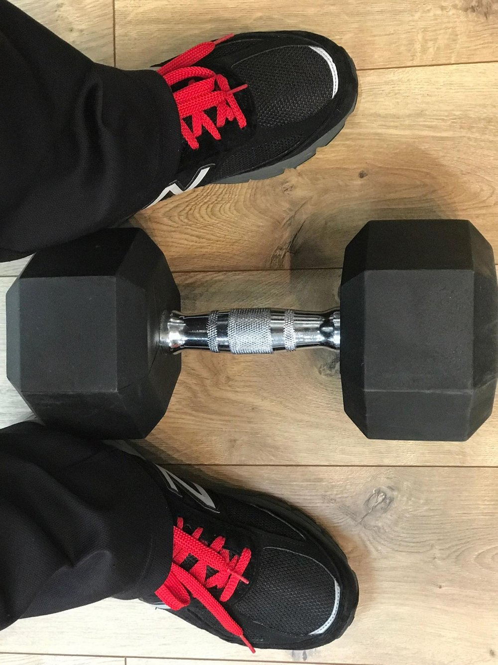 Left Shoes and Weight